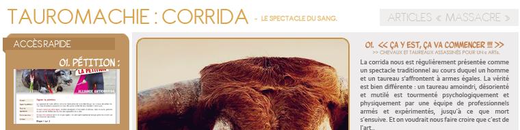 - CORRIDA -