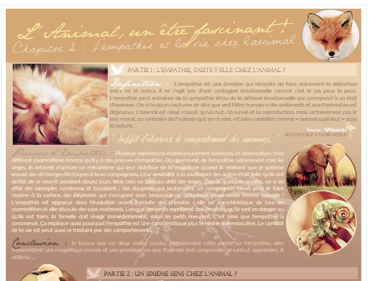 -CHAPITRE 02 L'ANIMAL, UN ETRE FASCINANT-