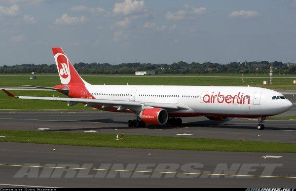 Un très beau A330-300 d'Air Berlin