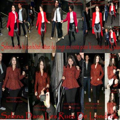 26/09/2010: Selena à Londres
