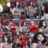 Re-Bonsoir! Selena a été photographiée le 9 novembre au matin , donnant une interview pour Extra en Californie, avec Mario Lopez. Je la trouve vraiment très radieuse . Selena est aussi nominé avec son groupe au People's Choice Awards dans la catégorie Breakout Artist face notamment à son ami Justin Bieber . Votez pour elle dès maintenant ci-dessous: