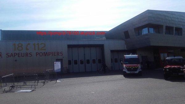 porte ouverte des sapeurs pompiers de caudebec les elbeuf 2017