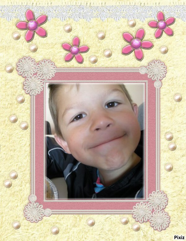 mon fils kenzo que j'aime tres fort