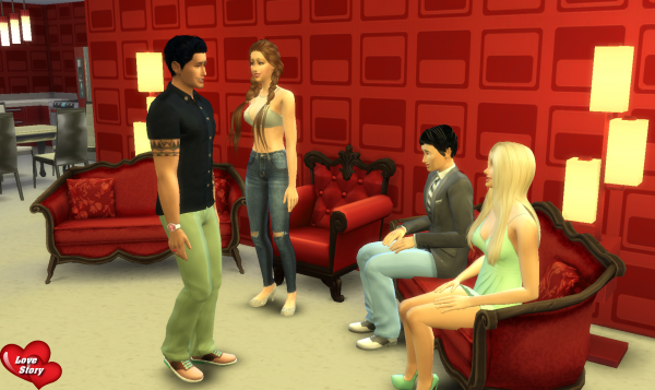 Love Story Sims - Prime 1 - Partie 4