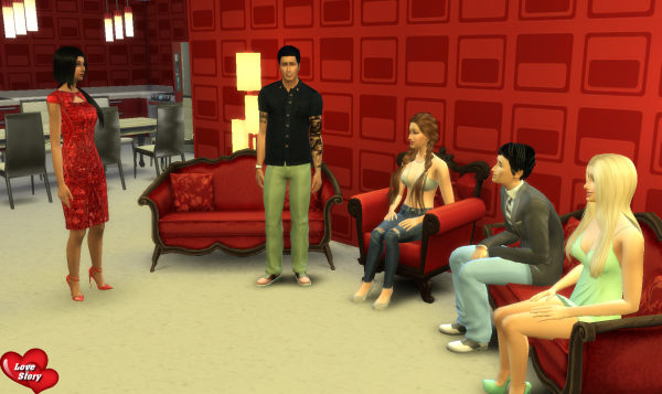 Love Story Sims - Prime 1 - Partie 5