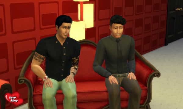 Love Story Sims - Quotidienne 1 - Partie 2