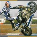 Photo de stunt-moto