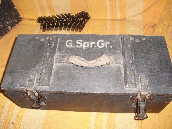caisse allemande de grenade pour fusil k98