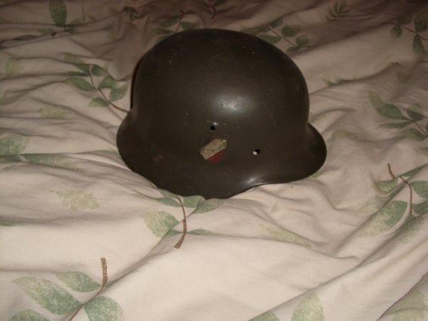 casque allemand acheté dans une bourse