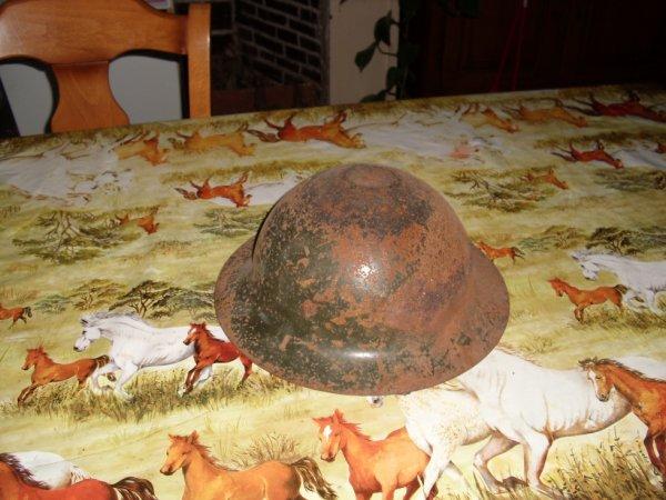 casque francais pour les marocains ww2