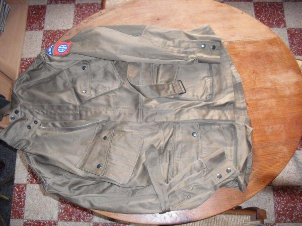 tenue para us m-1942 renforcée de la 82eme