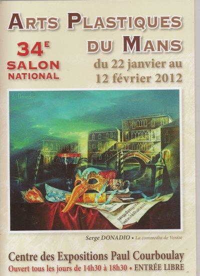 EXPO  PEINTURES LE MANS 72