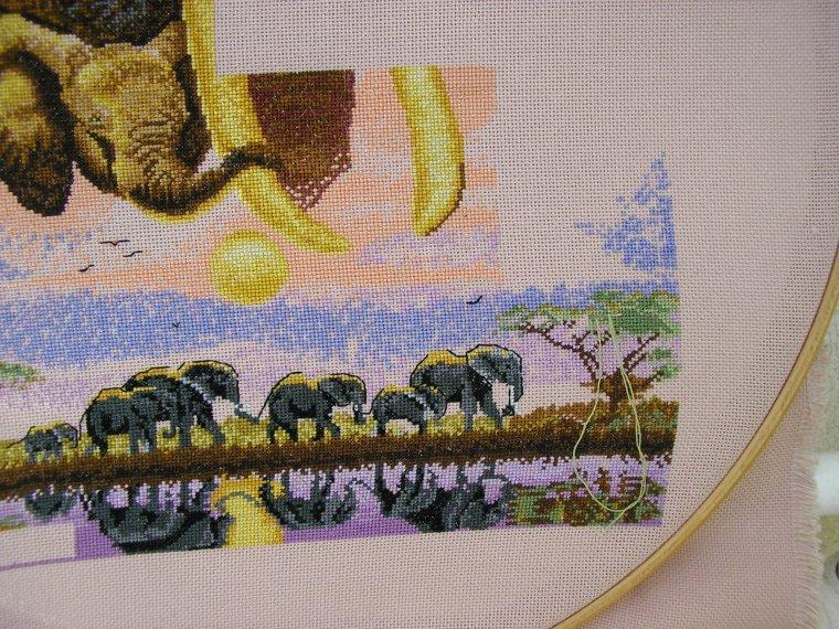 mes elephants!!!!!!