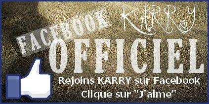 Rejoignez KARRY sur Facebook