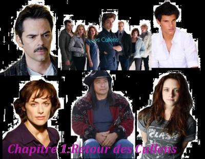 Chapitre 1: Retour des Cullens