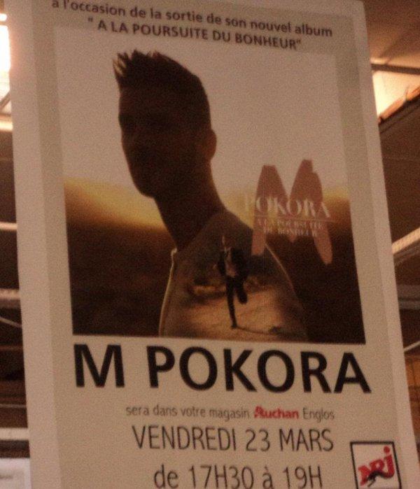 changement de sujet je vais vous parler d un chanteur un jeune francais M pokora
