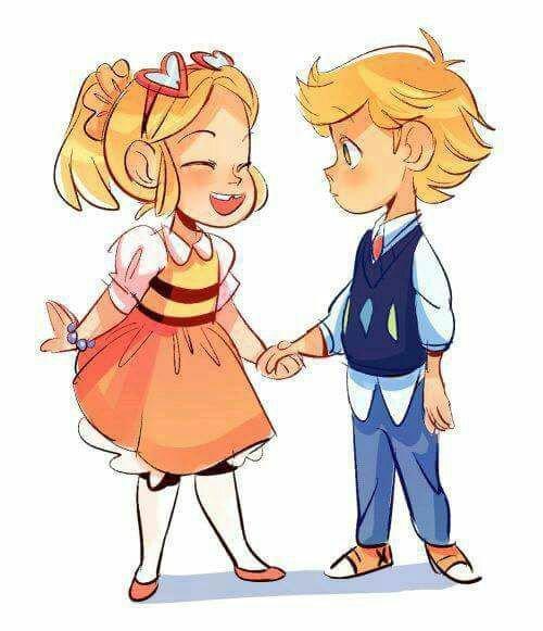 Chloé et Adrien