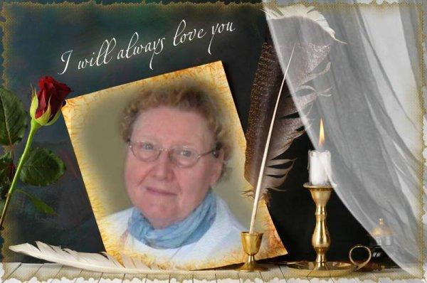 RIP Maman 24/05/2102