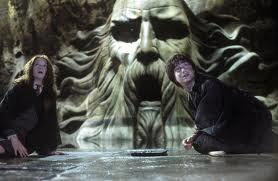 Harry Potter et la chambre des secrets : Scène dans la chambre des secrets.
