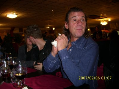 18 décembre 2010  soirée entre amis au wok à Messancy