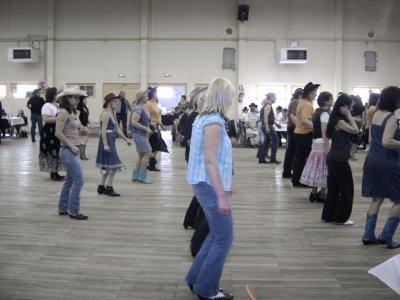 Le 10 avril 2011  après midi de danse country à Aumetz