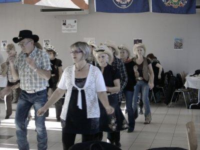 Dimanche 20 /11 2011 Après midi country sympa Chez les Freedancers à Hayange