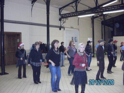 Christine,Nicole,Gipsy,Chantal,Dorothé,Paul nous ont manqués au dernier cour de l'Année que nous avons fêtés