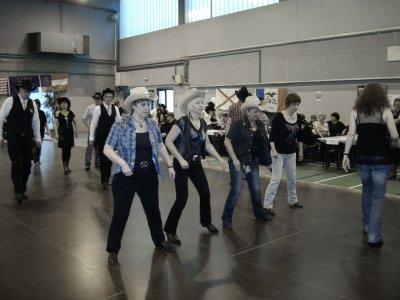 Apres midi country à Thionville mars 2012