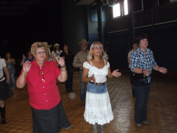 Après midi country à Villerupt le 30 septembre 2012