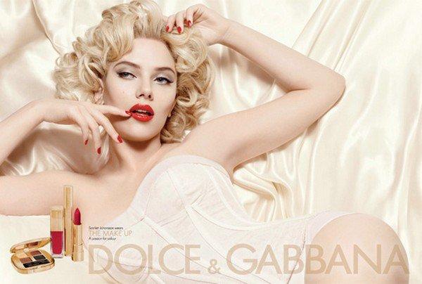 Scarlett J :  Dolce & Gabbana