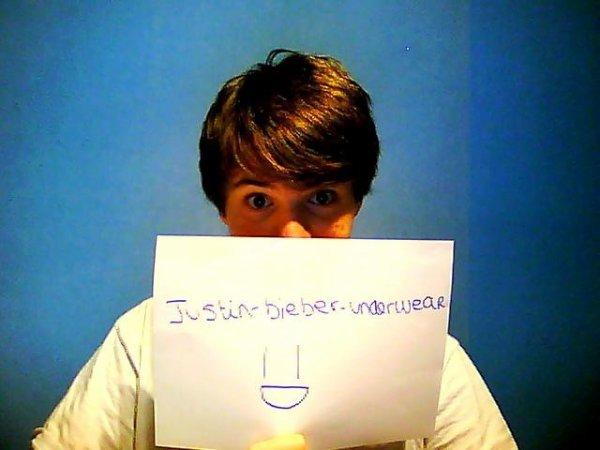 La dédicace UNDERWEAR N°1 (BOY) !!!