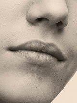 La bouche de Justin = Mmmmm !!!