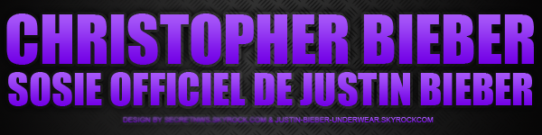 Christopher Bieber toujours aussi SEXY : A croquer !!!