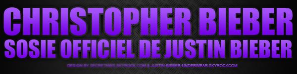 Christopher Bieber : Sosie et SEXY !!!