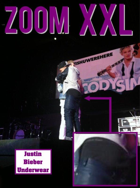 ZOOM XXL : Concert de Justin à Paris Bercy !