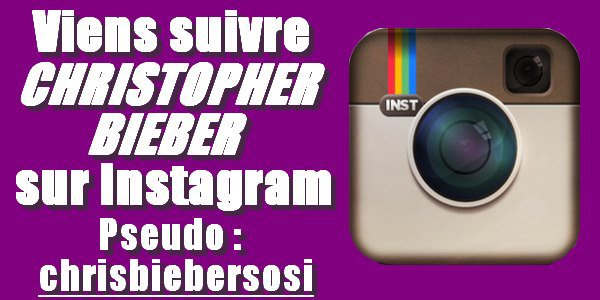 Les Photos SEXY de Christopher Bieber sur Instagram !