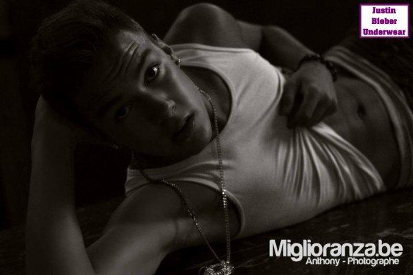 Le photoshoot hyper SEXY de Christopher Bieber !