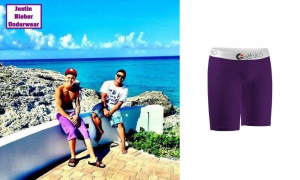 Ethika : La nouvelle marque de Boxer préféré de Justin Bieber !