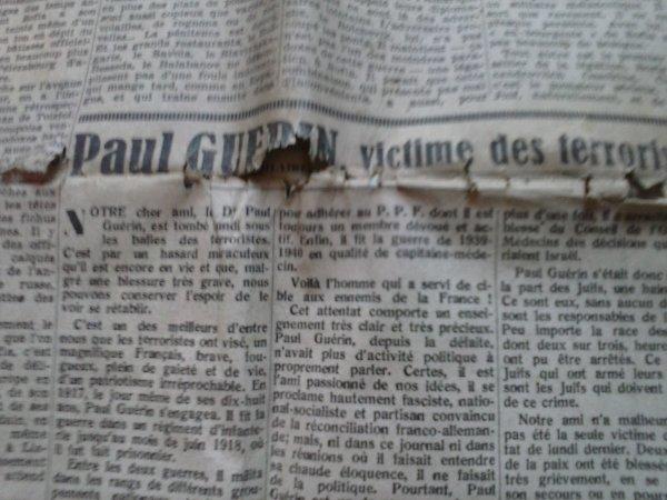 """journal français """"Je suis partout"""""""