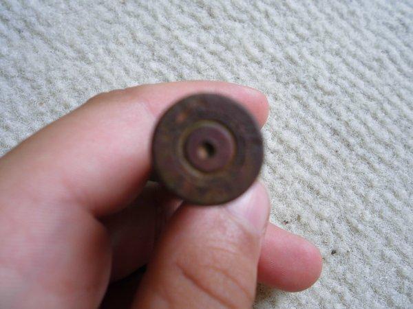 c'est quoi?encore une douille trouvée dans la vase par un ami de mon pere ya un quoi ou yen a plein j'irai faire un tour =)