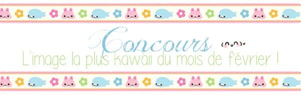 Concours : Quelle image sera élue image la plus kawaii du mois de février ?