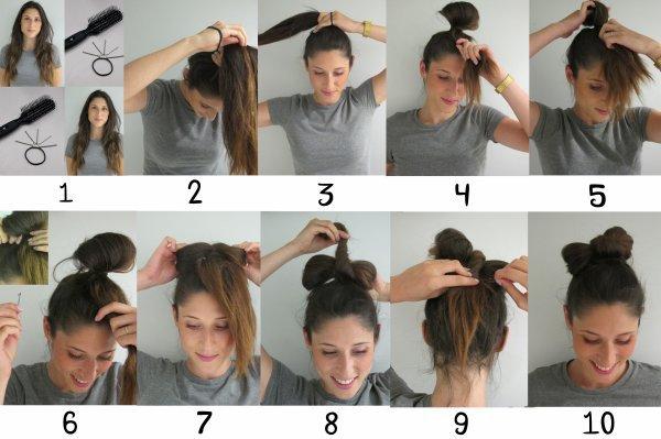 Kawaii Hairstyles 2  Tutoriel Spécial Chignon Nœud