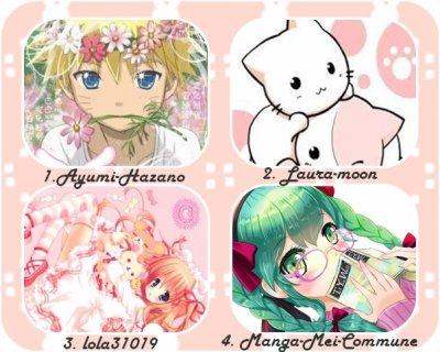 Concours : Votez pour l'image la plus kawaii pour le mois de mars !