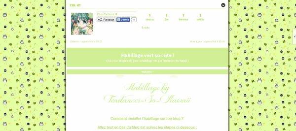 Habillages so kawaii, gratuits et sans lien ! (by Tendances-So-Kawaii)
