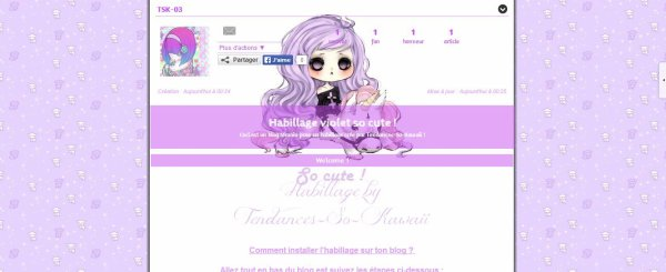 Habillages so kawaii, gratuits et sans lien ! (by Tendances-So-Kawaii)