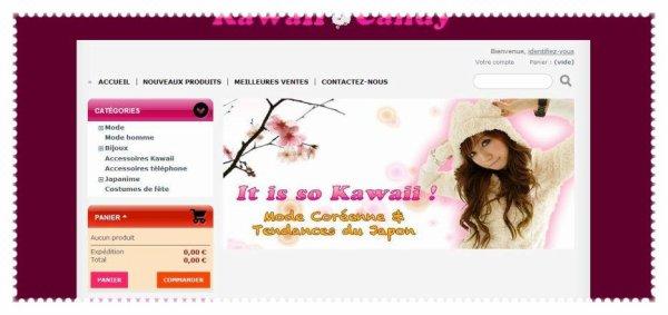 Sites de vêtements, objets et accessoires kawaii !