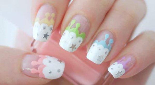 Nail Art, des ongles vraiment mignons ! #9 + Tuto en vidéo !
