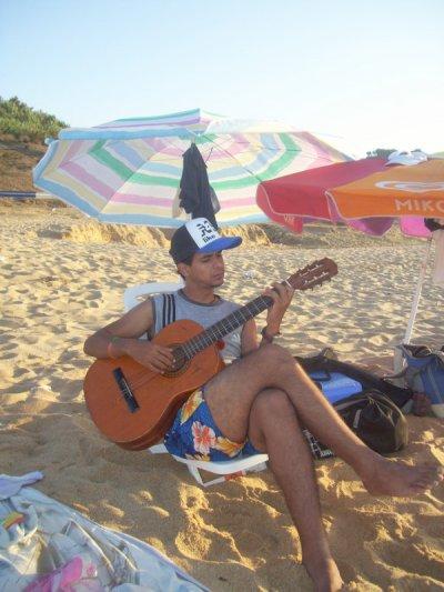 a la plage ac ma guitar