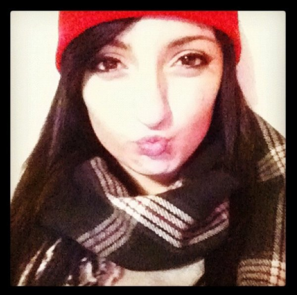 My cute new red toque