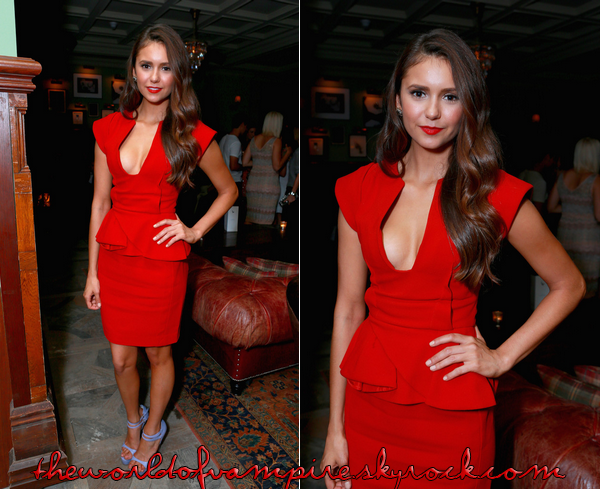 "Nina Dobrev au ""Toronto International Film Festival"" -  07/09"